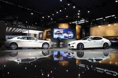 "With the launch of 2014 Ghibli at Shanghai Motor Show, following the premiere of the new Quattroporte at the Detroit Auto Show held this year, the Italian auto car maker ""Maserati"" will have two 4-door saloons together for sale for the first time in history, which are built to deliver best performance and luxury."