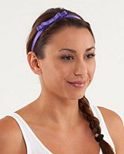 Lululemon Super cute for working out!! Prettiest Pirouette Headband
