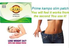 Prime Kampo slimming patch is made of more than 20 valued natural herbal extracts by super critical fluid extraction.this patch can help lose your excess weight by applying to your specific acupunture point and free of any side effect.