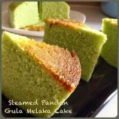 My Mind Patch: Steamed Pandan Gula Melaka Cake 蒸香兰椰糖蛋糕