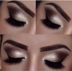 Amazing smoky eyes makeup