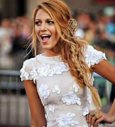 34 Ideas For Hair Copper Blonde Blake Lively Blonde hair models – Hair Models-Hair Styles Blake Lively Zopf, Blake Lively Braid, Trendy Hairstyles, Girl Hairstyles, Undercut Hairstyles, Blake Lively Hairstyles, Wedding Hairstyles, Men Undercut, Men's Hairstyle