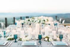 Photography: Caroline Tran - carolinetran.net   Read More on SMP: http://www.stylemepretty.com/california-weddings/2016/02/26/elegant-malibu-rocky-oaks-wedding-in-shades-of-blue/