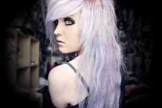 Love the lavender hair!