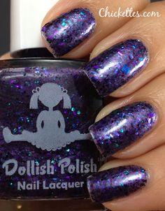 Chickettes.com:  Dollish Polish Deadly Nightshade