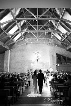 St. Elizabeth Seton, Carmel, Indiana. #Catholic #Wedding