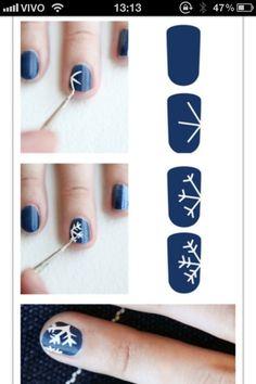 nail project: winter nails