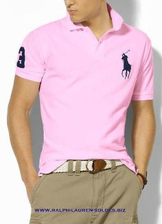 ec4886c45b768 Ralph Lauren Men Classic-Fit Big Pony Polo pink On Sale