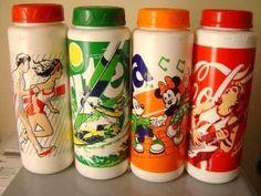 era febre nos anos 90. garrafas