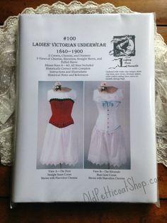Laughing Moon #100 Ladies' Victorian Underwear Pattern