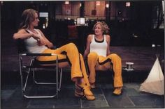 Uma & Zoe Bell (I think). Love these girls.