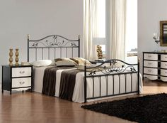 What Are the Latest Home Decor Trends?Note the night stand and dresser. Small Master Bedroom, Master Bedroom Makeover, Modern Bedroom, Bedroom Furniture, Home Furniture, Bedroom Decor, Bedroom Ideas, Bedroom Designs, Furniture Ideas