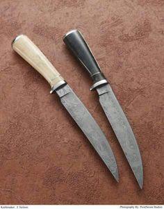 Beautiful knives by Mastersmith J. Neilson