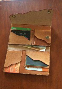 Women leather wallet purse clutch