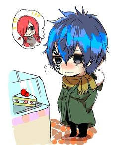 He knows how to please his Erza. Erza Y Jellal, Fairy Tail Jellal, Fairy Tail Levy, Natsu Y Lucy, Fairy Tail Art, Fairy Tail Ships, Fairy Tail Anime, Fairy Tales, Fairytail Natsu