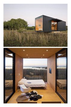 Minimod | Uruguayan/Brazilian architectural firm MAPA | This specific dwelling, serving as the perfect weekend escape, measures 291 square feet and is located in Maquiné, Brazil.