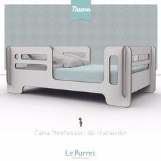 Cama De Transición Montessori Le Purret - $ 6.900,00