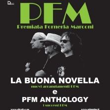 """PFM - """"LA BUONA NOVELLA"""" + """"PFM ANTOLOGY""""  Il primo incontro fra Fabrizio De André e PFM, avvenne nel 1970, all'epoca de' """"La Buona Novella"""", quando la band si chiamava ancora """"I Quelli"""". A quarant'anni dalla pubblicazione di quella prima versione, la ..."""