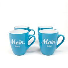 Moin Tassen, die Geschenkidee für alle Moin-Sager und Nordlichter! >>