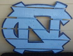 North Carolina Tarheels sign made from by MonicasFavThings on Etsy