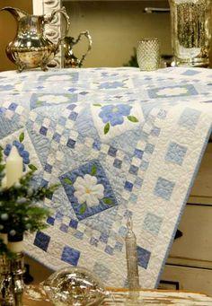 Blue Delft Quilt Free Pattern