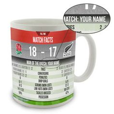 Personalised Rugby Mug