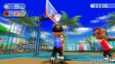 Wii Sports Resort basketball funny gif funny girls funny hilarious f Basketball Funny, Girls Basketball, Basketball Legends, Star Fox 64, Youtube Free Music, Funeral March, Wii Sports, Wii Fit, Basket Ball