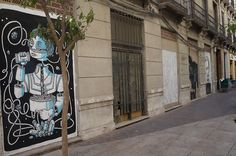 Muro Libre Proyecto MAUS/ Soho Málaga. #StreetArt #ArteUrbano https://twitter.com/arterecord