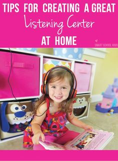 What do you do to make reading fun with your toddlers? Here are some tips I have about making a DIY Listening Center at home