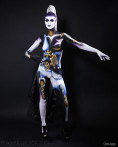 Body Painting Academy Final 2011/12 by Hélène R