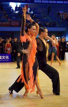 Andrea Silvestri and Martina Vanadi - WDSF Grand Slam Latin Wuhan 16 April 2016