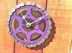 Interesting Ideas How To Use Your Old Bike, like make a clock! #bike #clock