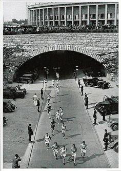 1936 Berlin Olympics Photographs - Sammelwerk Nr. 68, Bild Nr. 50, Gruppe 59, Marathon Race.