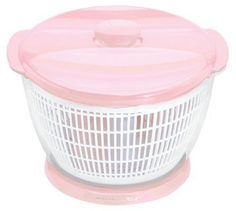 Christmas present? KitchenAid Cook for the Cure -Quart Salad Spinner, Pink Cool Kitchen Gadgets, Kitchen Items, Kitchen Utensils, Cool Kitchens, Kitchen Appliances, Pink Dishes, Salad Spinner, Pink Foods, Everything Pink