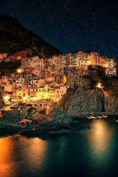 """""""Cinque Terre, Manarola, Italy © Adnan Bubalo """""""