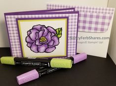 Beautiful Day Stamp Set is my favorite stamp set for using Stampin' BLENDS alcohol marker. Alcohol Markers, Pretty Cards, Flower Petals, Stampin Up Cards, Beautiful Day, Holiday Cards, Birthday Cards, Give It To Me, Paper Crafts