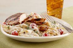cremosa-pasta-de-tomates-y-albahaca-con-pollo-116629 Image 1