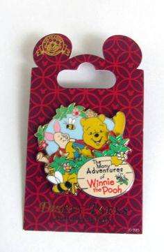 "Disney  Winnie & Piglet ""The Many Adventures of Winnie The Pooh Pin"