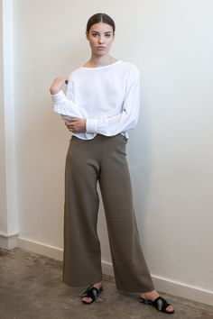 Slip Over, Loose Pants, Cami, Normcore, Blouse, Jeans, Bikinis, Sleeves, Cotton