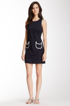 Julie Brown Double Pocket Sleeveless Dress from HauteLook on shop.CatalogSpree.com, your personal digital mall.