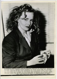 Frances Farmer, actress - She spent many years in and out of mental institutions, and a movie, Frances, was made of her life starring Jessica Lange.