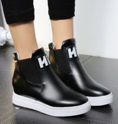 A026-BK, SIZE 35-39, WEDGER-3, INHEELS-3 Wholesale Shoes, Rubber Rain Boots, Chelsea Boots, Ankle, Fashion, Moda, Wall Plug, Fashion Styles, Fashion Illustrations