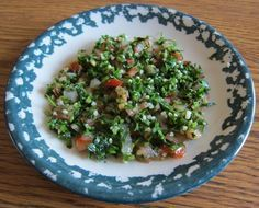 Tabouleh Salad Recipe – How To Make Authentic Lebanese Taboulli- Sub quinoa for bulgar