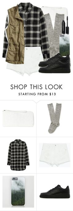 """""""Malia Inspired Outfit with Requested Shoes"""" by veterization ❤ liked on Polyvore featuring мода, Aéropostale, Madewell, Zara, NIKE и Bobbi Brown Cosmetics"""