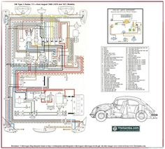 Elétrica VW AR: Esquema Elétrico Fusca 70 e 71.