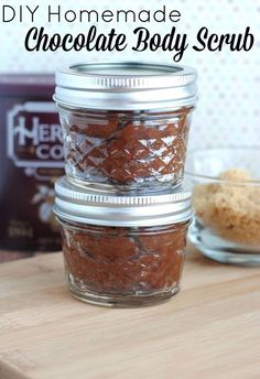 DIY Beauty: Homemade Chocolate Body Scrub Recipe | {Not Quite} Susie Homemaker | Bloglovin'