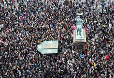 Manifestación en Europa por los Refugiados
