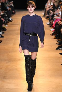 Isabel Marant Fall 2015 Ready-to-Wear Fashion Show - Vanessa Moody (Women)
