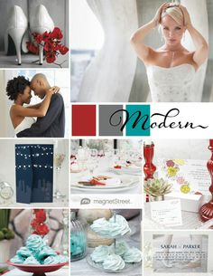 My Wedding Style! | Modern Wedding Inspiration from MagnetStreet