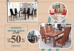 Shop Furniture, Homeware, Garden Furniture and Much More! Glass Dining Room Sets, Wooden Dining Set, Dining Table With Bench, Ottoman Table, Modern Dining Table, Table And Chair Sets, Wooden Kitchen, Dining Table In Kitchen, Dining Table Chairs
